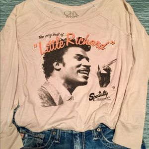 "Tops - ""Little Richard"" Thin long sleeve tee."